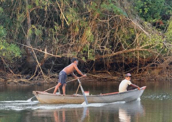 Flussfahrt der Khmer Daeum